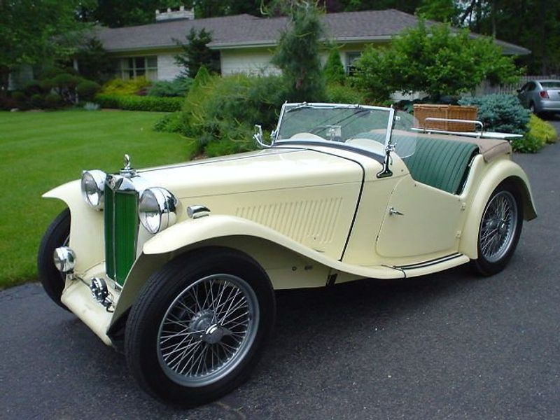1949 MG MGTC MGTC EXU -RESTORED!! - 334529 - 4