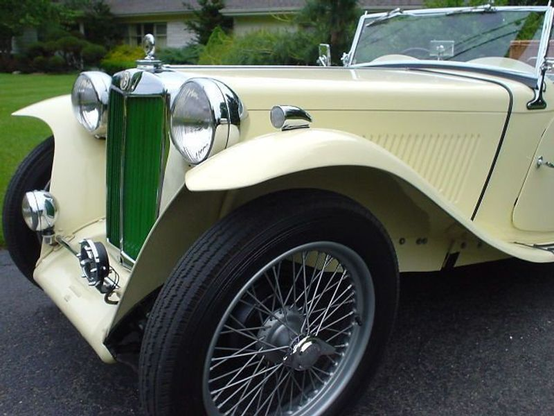1949 MG MGTC MGTC EXU -RESTORED!! Not Specified - 9884EXU - 8