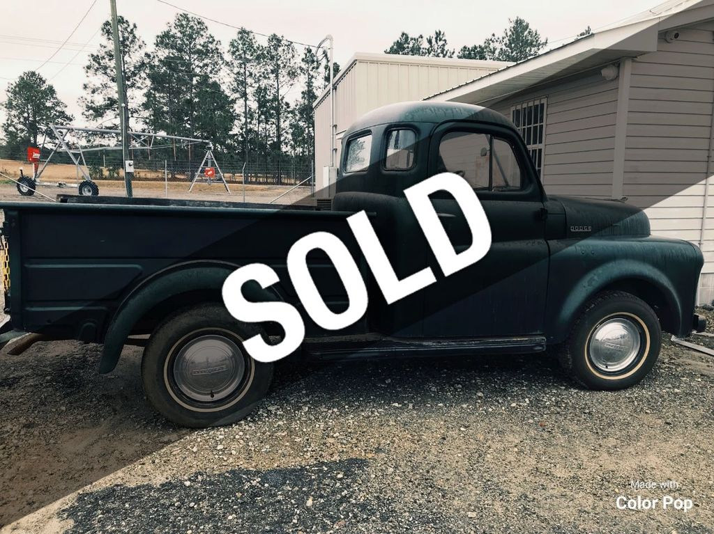 1950 Used Dodge Series 20 Pickup Truck For Sale At Webe Autos