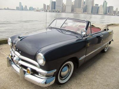 1950 Ford Custom For Sale Convertible