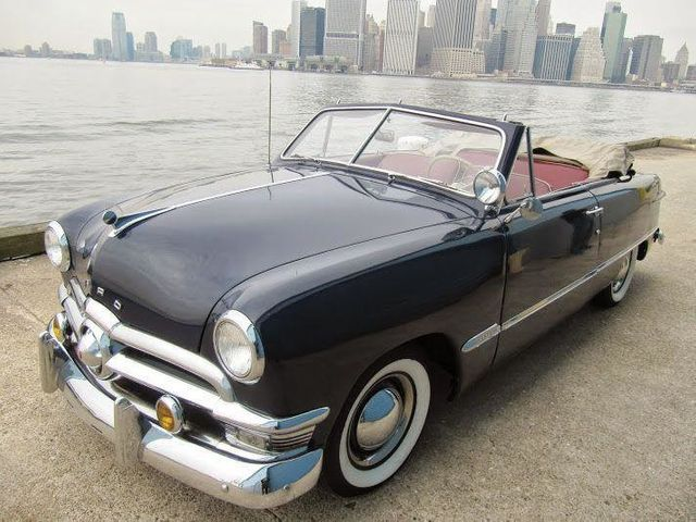 1950 Ford Custom For Convertible