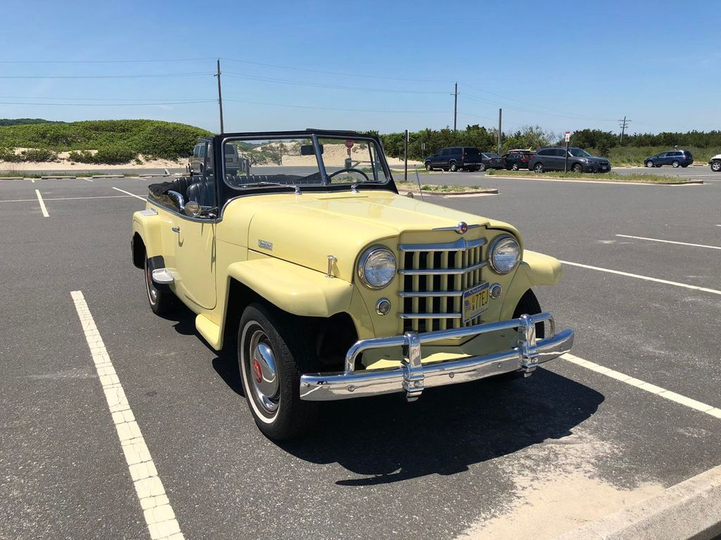 1950 Willys jeepster  - 17690949 - 17