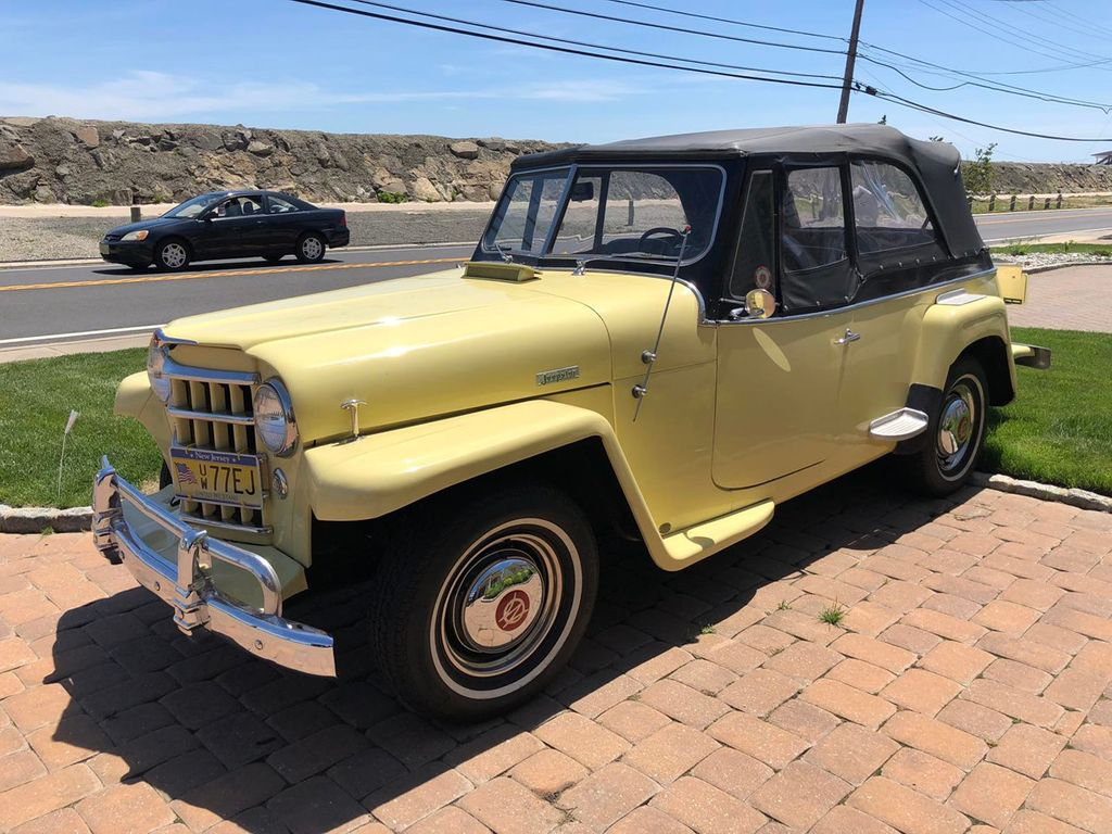 1950 Willys jeepster  - 17690949 - 1