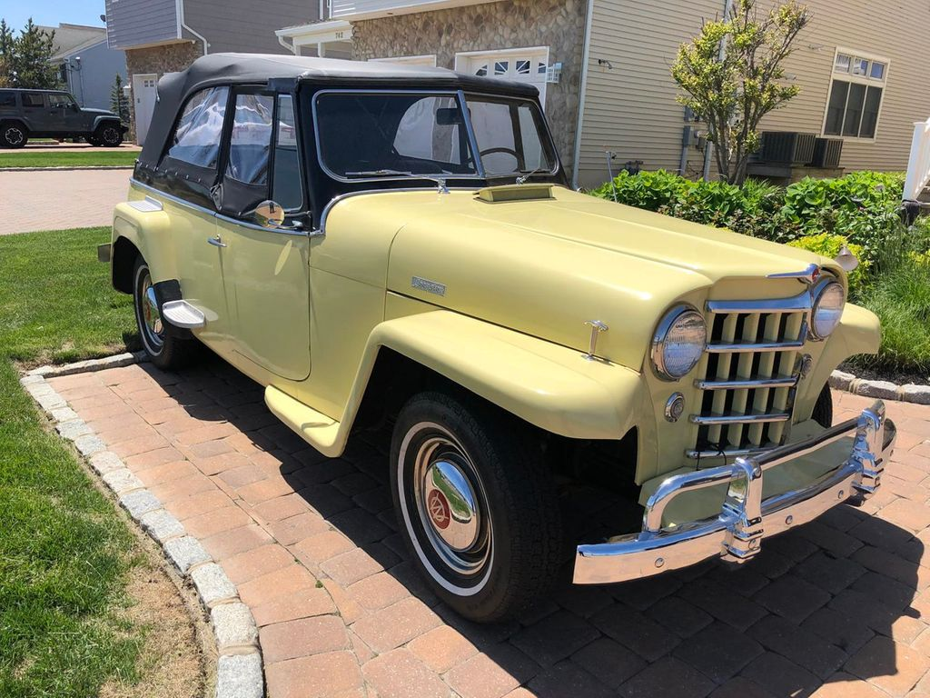 1950 Willys jeepster  - 17690949 - 2