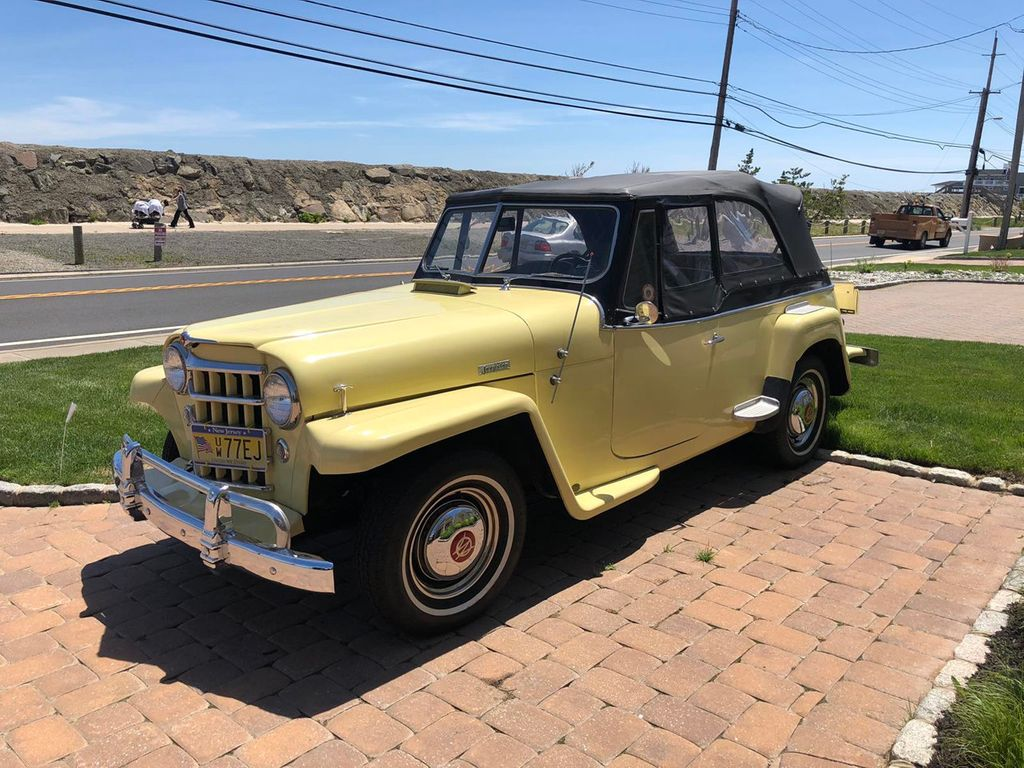 1950 Willys jeepster  - 17690949 - 3