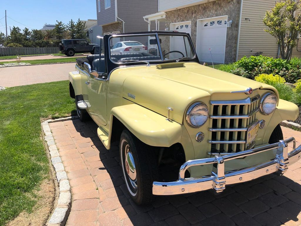 1950 Willys jeepster  - 17690949 - 7