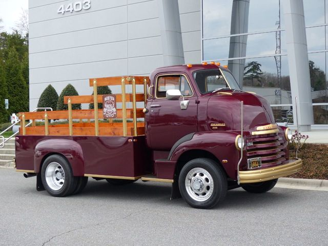 1951 Chevrolet 5100 Coe Very Rare Cab Over Engine 5100 Pickup 350 Cubic Inch V8 Truck Regular Cab Long Bed For Sale Charlotte Nc 48 990
