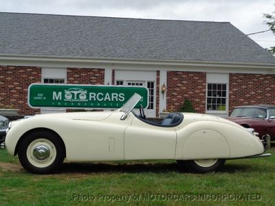 1951 Jaguar XK120 Convertible ONE OF THEE MOST WELL DONE RESTORATIONS WE HAVE EVER SEEN!