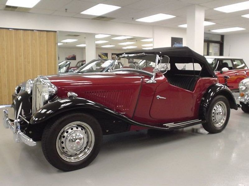 1952 Used MG MGTD at Find Great Cars Serving Ramsey, NJ, IID 1245681
