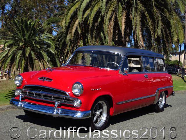 1953 Used Dodge Coronet V8 Hemi Wagon At Cardiff Classics Serving