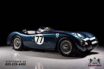 1953 Jaguar C-Type Recreation Mecum Phoenix Lot# S240.1 Coupe