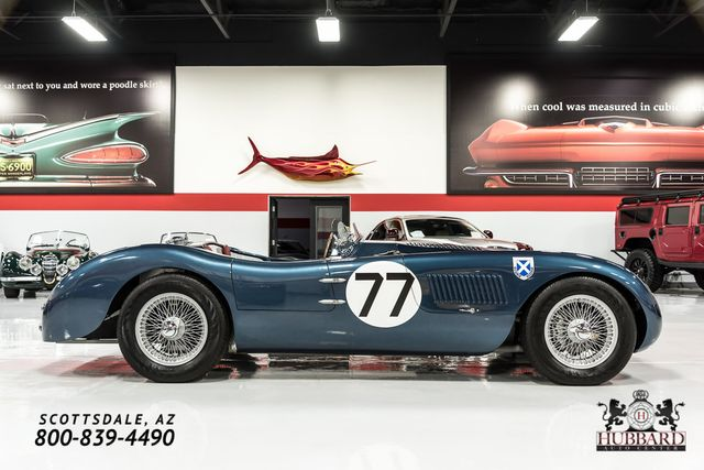 1953 Jaguar C-Type Recreation Mecum Phoenix Lot# S240.1 - Click to see full-size photo viewer