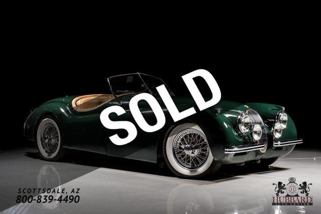 Awesome 1953 Jaguar XK 120 Convertible   673094   0
