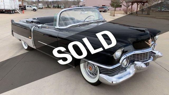 1954 Cadillac Eldorado Convertible For Sale Riverhead Ny 79 995 Motorcar Com