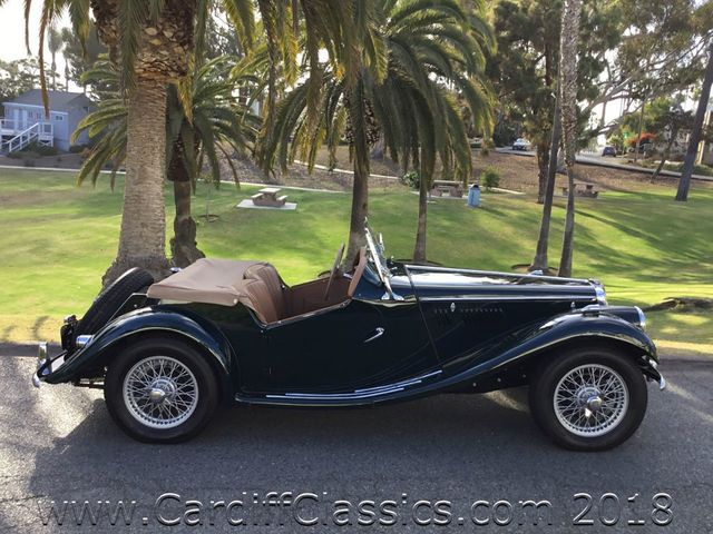 1954 MG TF  - Click to see full-size photo viewer