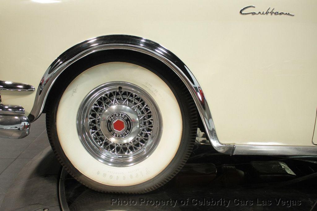 1954 Packard Caribbean Convertible - 18062240 - 15