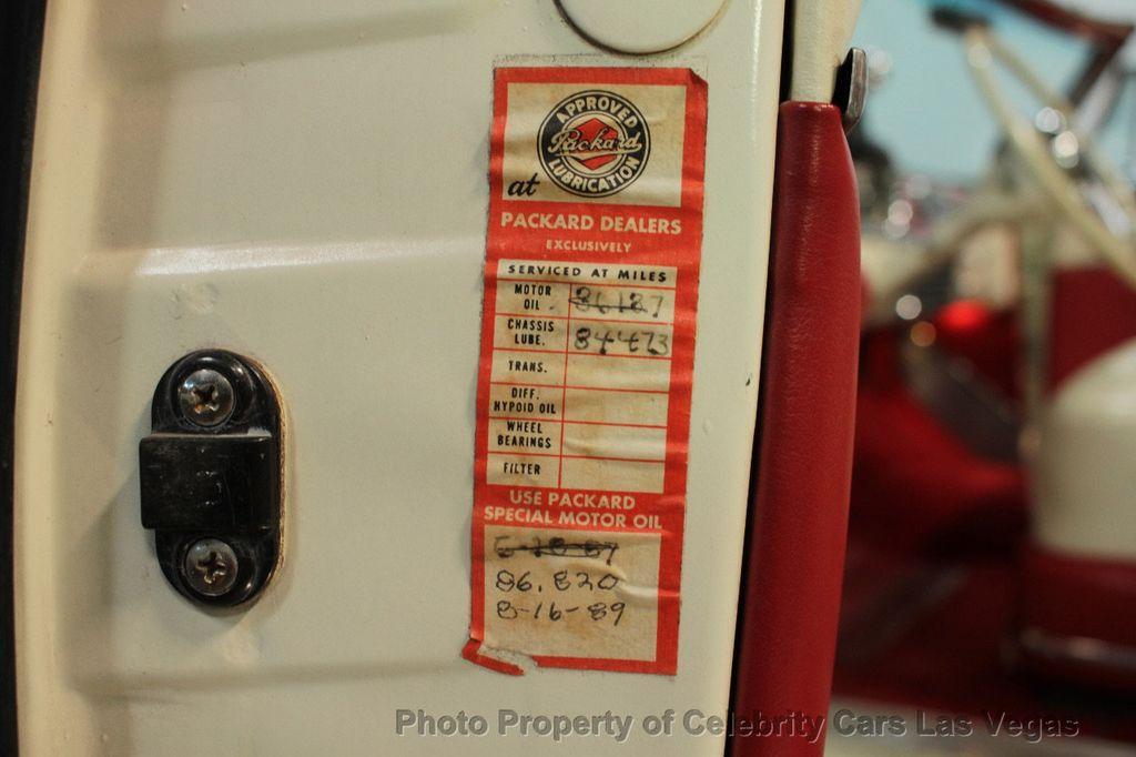 1954 Packard Caribbean Convertible - 18062240 - 49