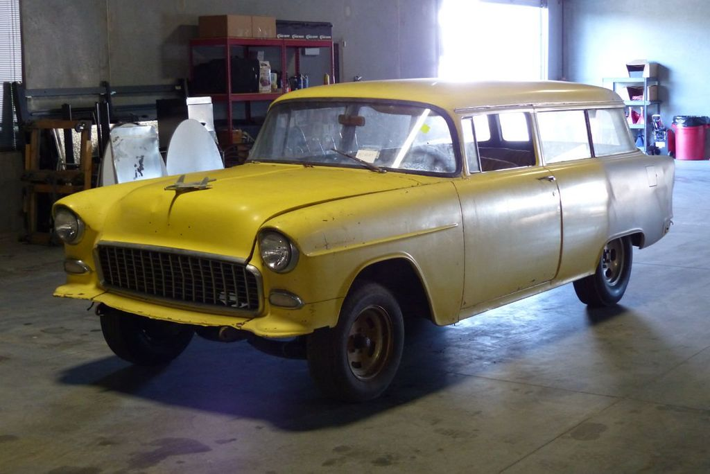 1955 Chevrolet 150 Station Wagon  - 16585171 - 2