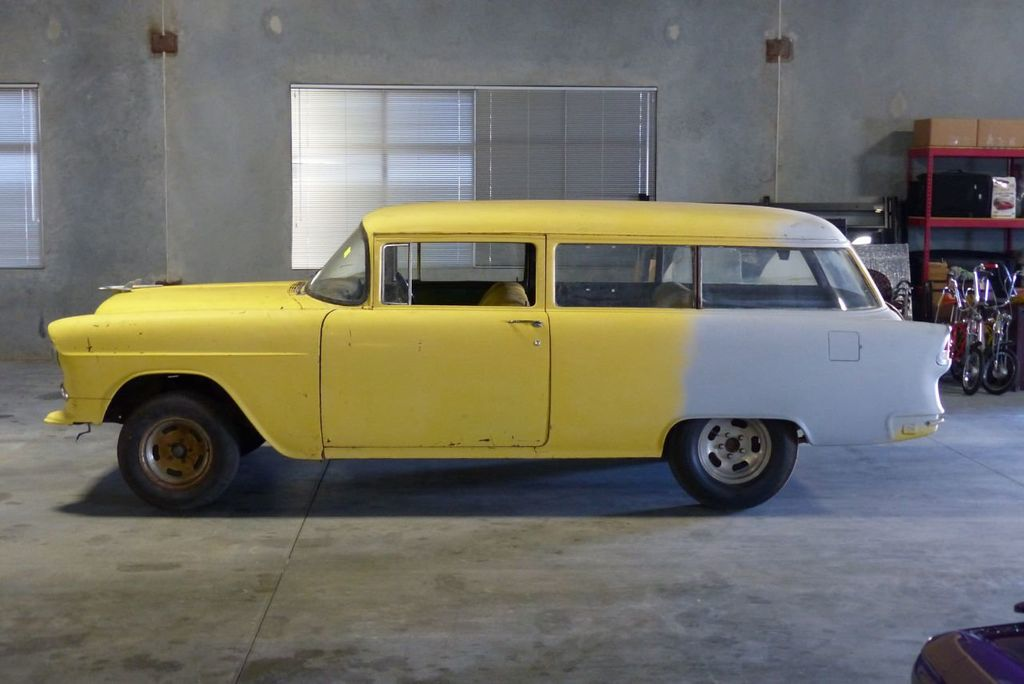 1955 Chevrolet 150 Station Wagon  - 16585171 - 8