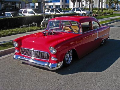 1955 Chevrolet 210  Pro Street Coupe
