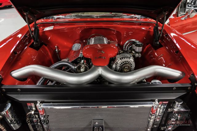 1955 Chevrolet Bel Air Fully custom, Supercharged LS2 Engine.  - Click to see full-size photo viewer