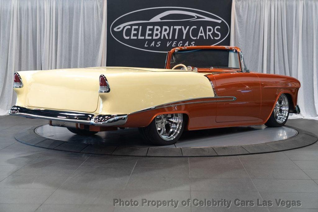Bel Air Car >> 1955 Used Chevrolet Bel Air Custom Mod At Celebrity Cars Las Vegas