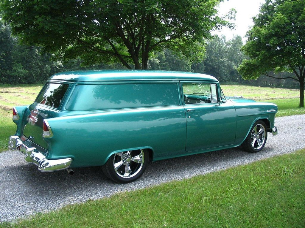 1955 Used Chevrolet Sedan Delivery Restored At Find Great Cars Chevy 2 Door For Sale 11797141 1