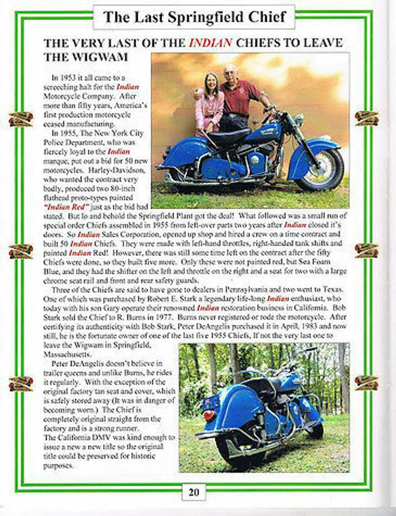 1955 Indian Chief  - 14919278 - 5