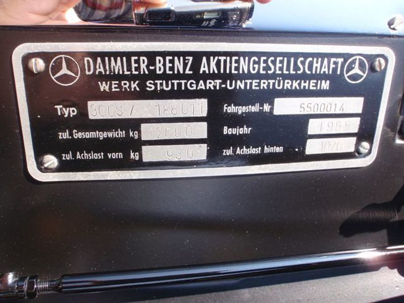 1955 Mercedes-Benz 300S GRAND TOURING - 5832905 - 55