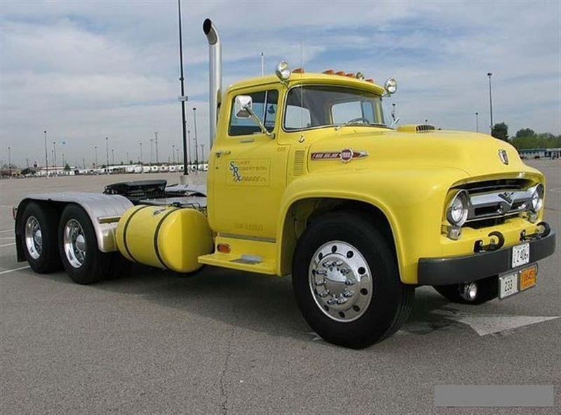 1956 Used Ford F800 Big Job At Find Great Cars Serving