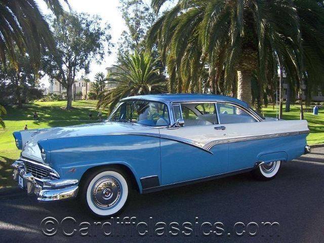 1956 Used Ford Fairlane Victoria Hardtop At Cardiff