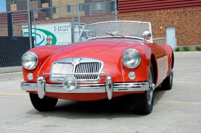 1956 MG MGA Roadster 1500  - Click to see full-size photo viewer