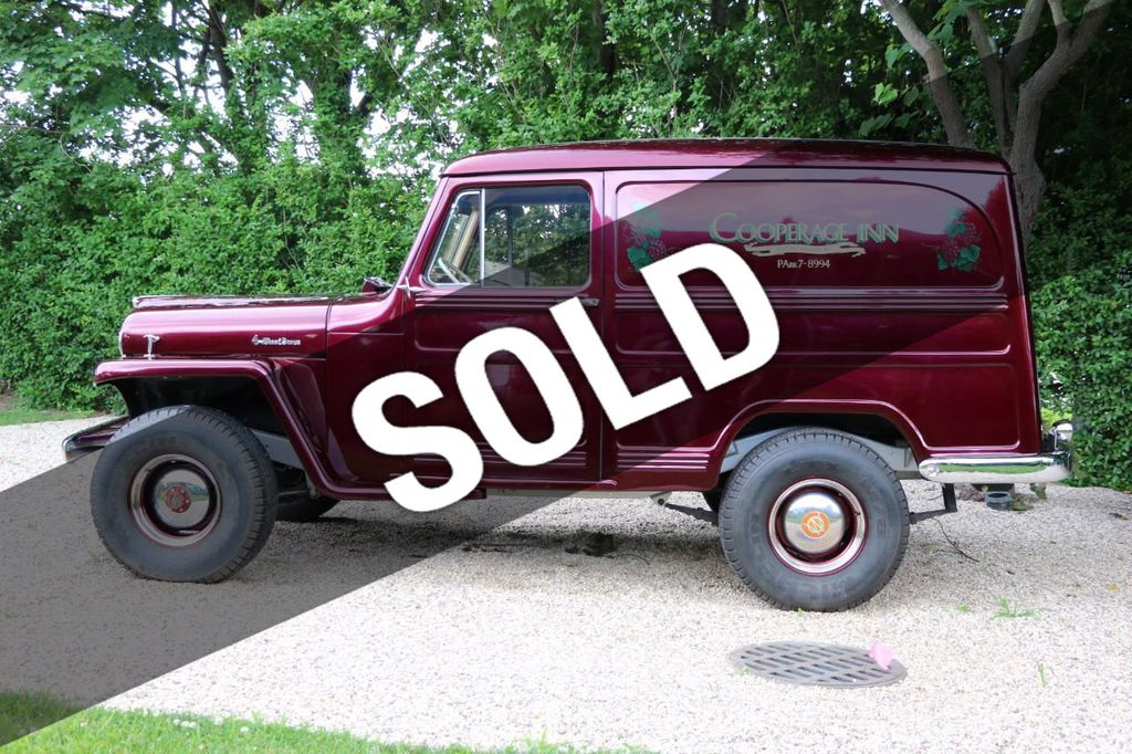 1956 Willys Sedan Delivery 4x4 - 16607870 - 0