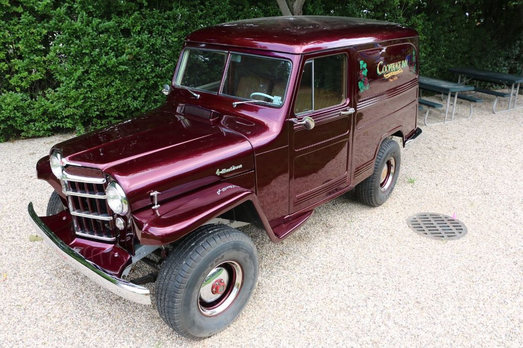 1956 Willys Sedan Delivery 4x4 - 16607870 - 24