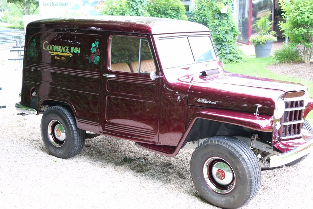 1956 Willys Sedan Delivery 4x4 - 16607870 - 5