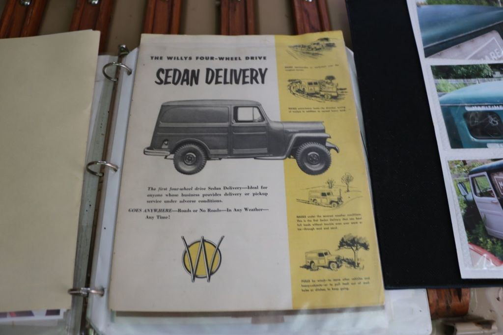 1956 Willys Sedan Delivery 4x4 - 16607870 - 79