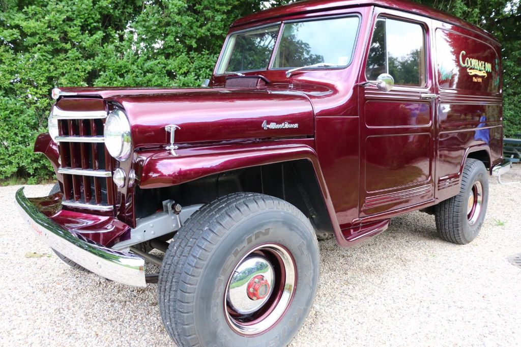 1956 Willys Sedan Delivery 4x4 - 16607870 - 8