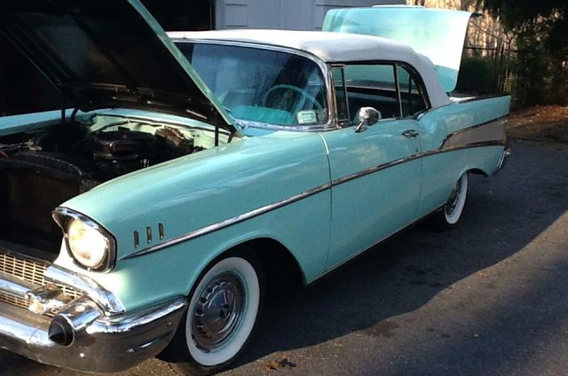 1957 Chevrolet Bel Air Convertible  - 15423086 - 13