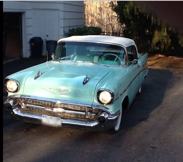 1957 Chevrolet Bel Air Convertible  - 15423086 - 3