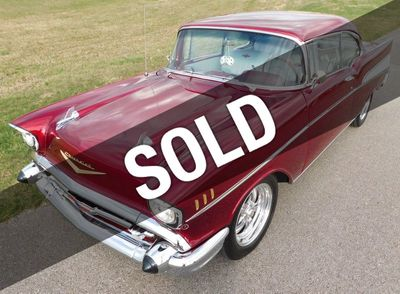 1957 Chevrolet Bel Air For Sale Coupe