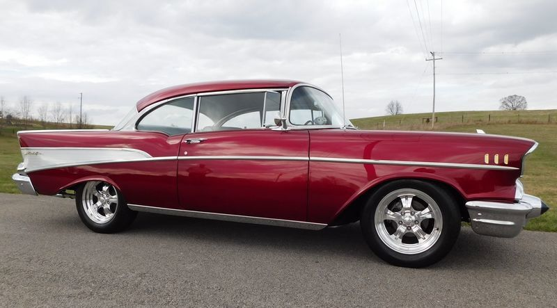 1957 Chevrolet Bel Air For Sale - 16153253 - 10
