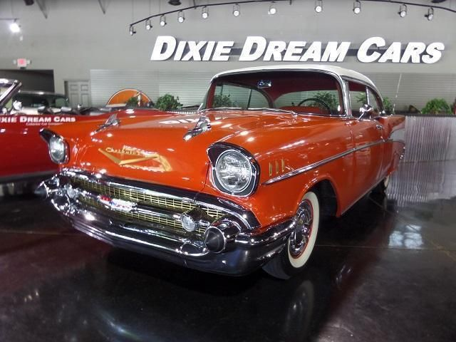 1957 Used Chevrolet Bel Air Sport Coupe At Dixie Dream Cars Serving