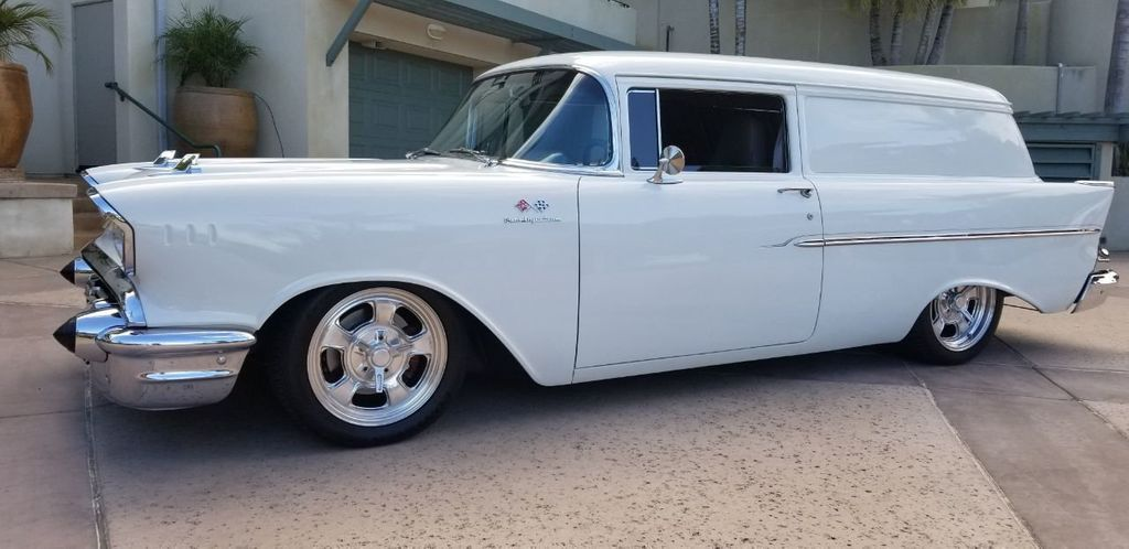 1957 Chevrolet CHEVY DELIVERY WAGON  - 18163382 - 4