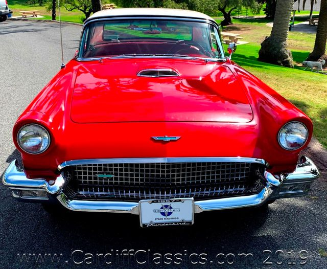 1957 Ford Thunderbird  - Click to see full-size photo viewer