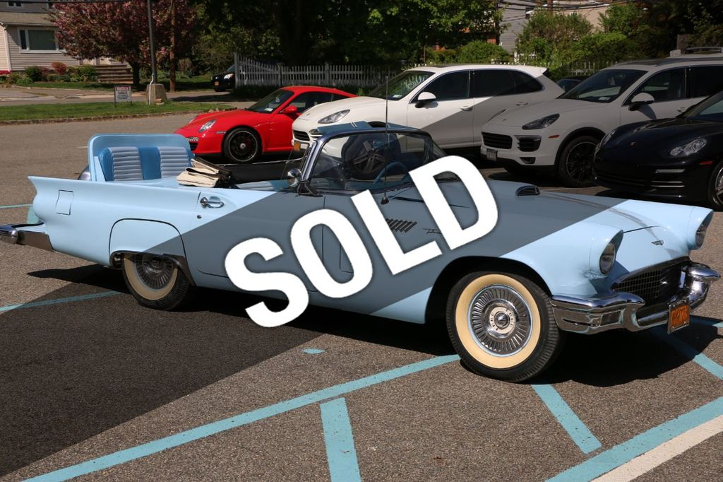 1957 used ford thunderbird birds nest at webe autos serving long
