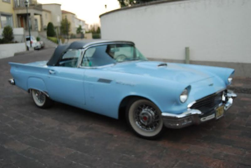 1957 Ford Thunderbird Model E - 12503414 - 0