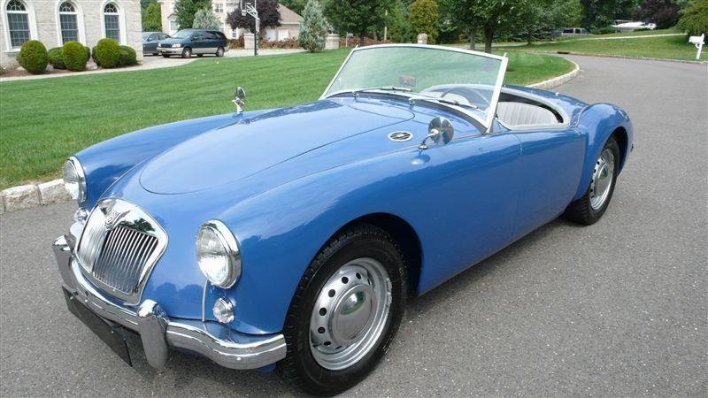 1957 MG MGA RESTORED - 7611616 - 0