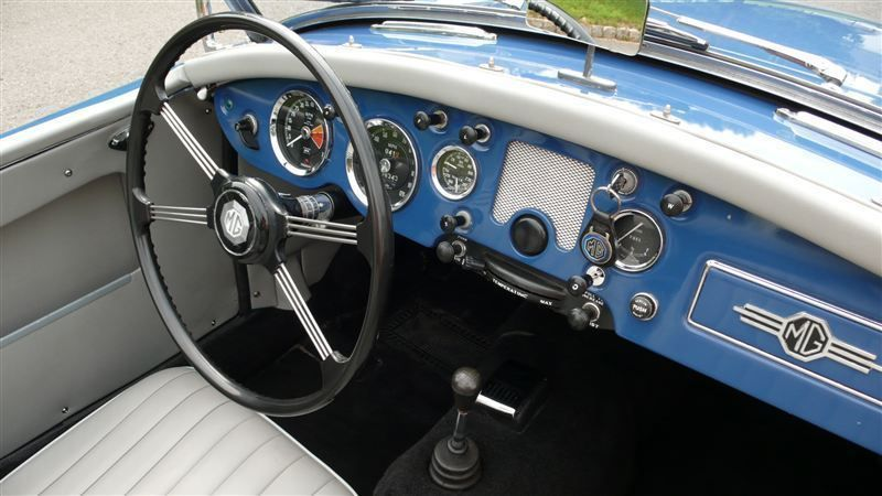 1957 MG MGA RESTORED - 7611616 - 7