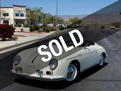1957 Porsche 356 Speedster SPEEDSTER Convertible