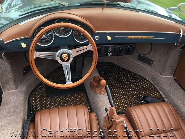 1957 Porsche 356 SPEEDSTER (VINTAGE)  - Click to see full-size photo viewer